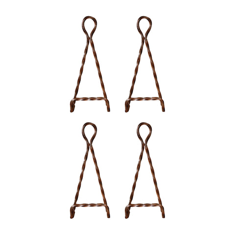 Pomeroy Kashmir Iron Set Of 4 Easel In Montana Rustic Finish 603242/S4