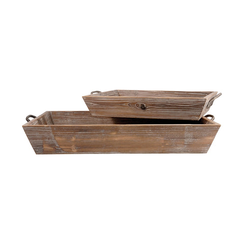Pomeroy Americana Set of 2 Deep Trays 609589