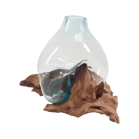 Dimond Home Driftwood Glass Bottle 7163-048
