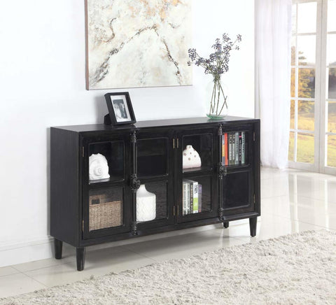 Coaster Transitional Black Accent Cabinet  950780