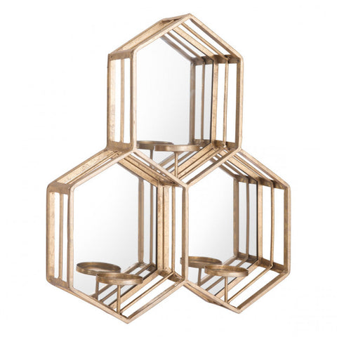 Zuo Vico Wall Decor In Gold Finish A11884