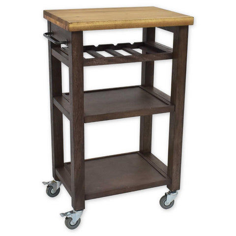 Steve Silver Belden Kitchen Cart-Grey BD150CKG
