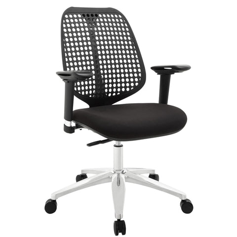 Modway Reverb Premium Office Chair With Black Finish EEI-1173-BLK