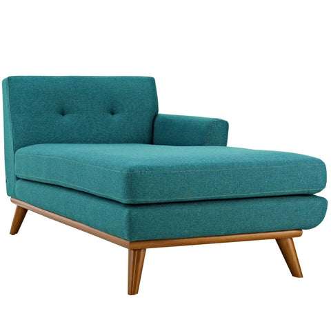 Modway Engage Right Facing Chaise With Teal Finish EEI-1794-TEA