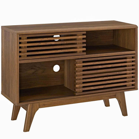 Modway Render Display Stand With Walnut Finish EEI-2542-WAL