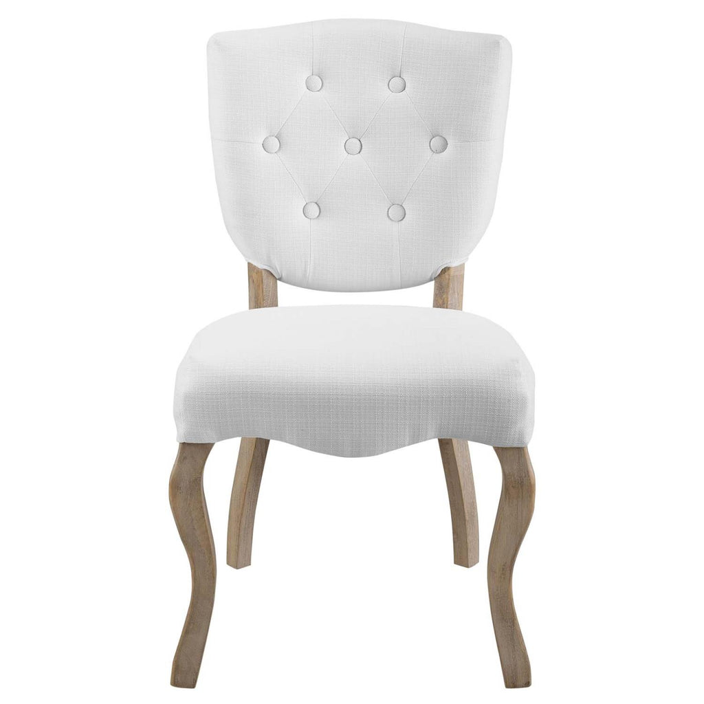 Modway Array Polyester Dining Chair In White Finish EEI-2878-WHI