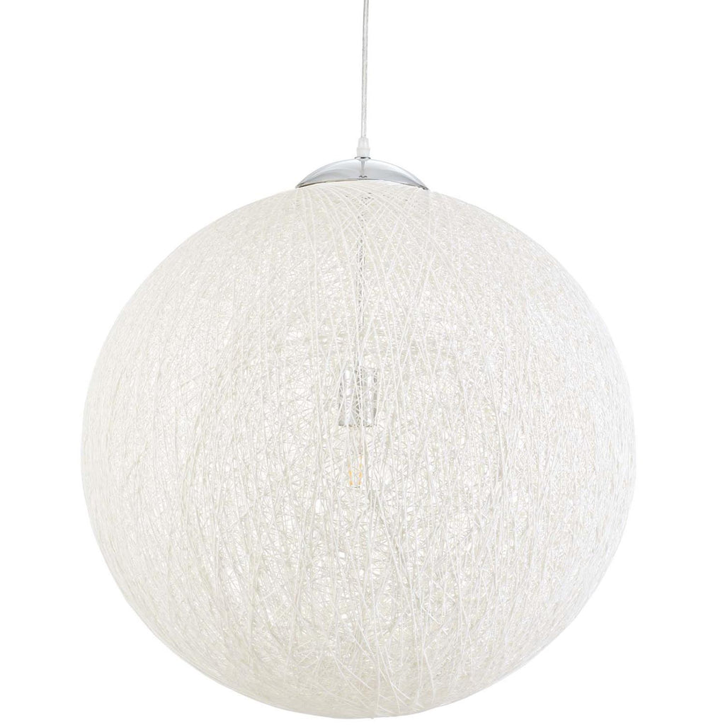 Modway Spool Paper Rope Pendant In White Finish EEI-2898