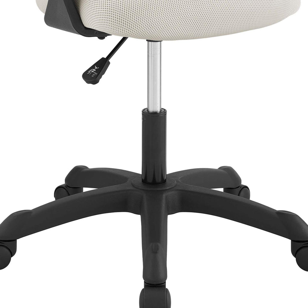 Modway Thrive Fabric Desk Chair In Gray Finish EEI-3041-GRY