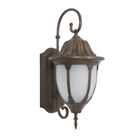 Yosemite Fluorescent Exterior Sconce With Brown Finish FL5335BR