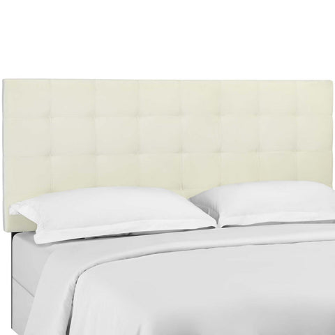 Modway Paisley Tufted Twin Performance Velvet Headboard MOD-5847-IVO