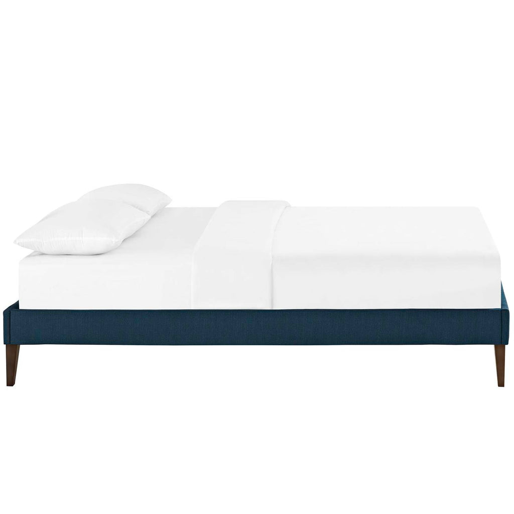 Modway Tessie Fabric Bed Frames In Azure Finish MOD-5899-AZU