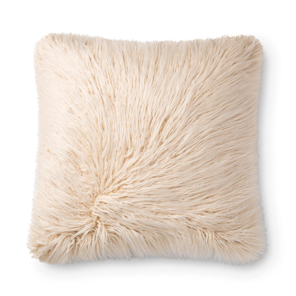 "Loloi Multi And Ivory Color 22"" X 22"" Accent Pillow PSETP0786MLIVPIL3"