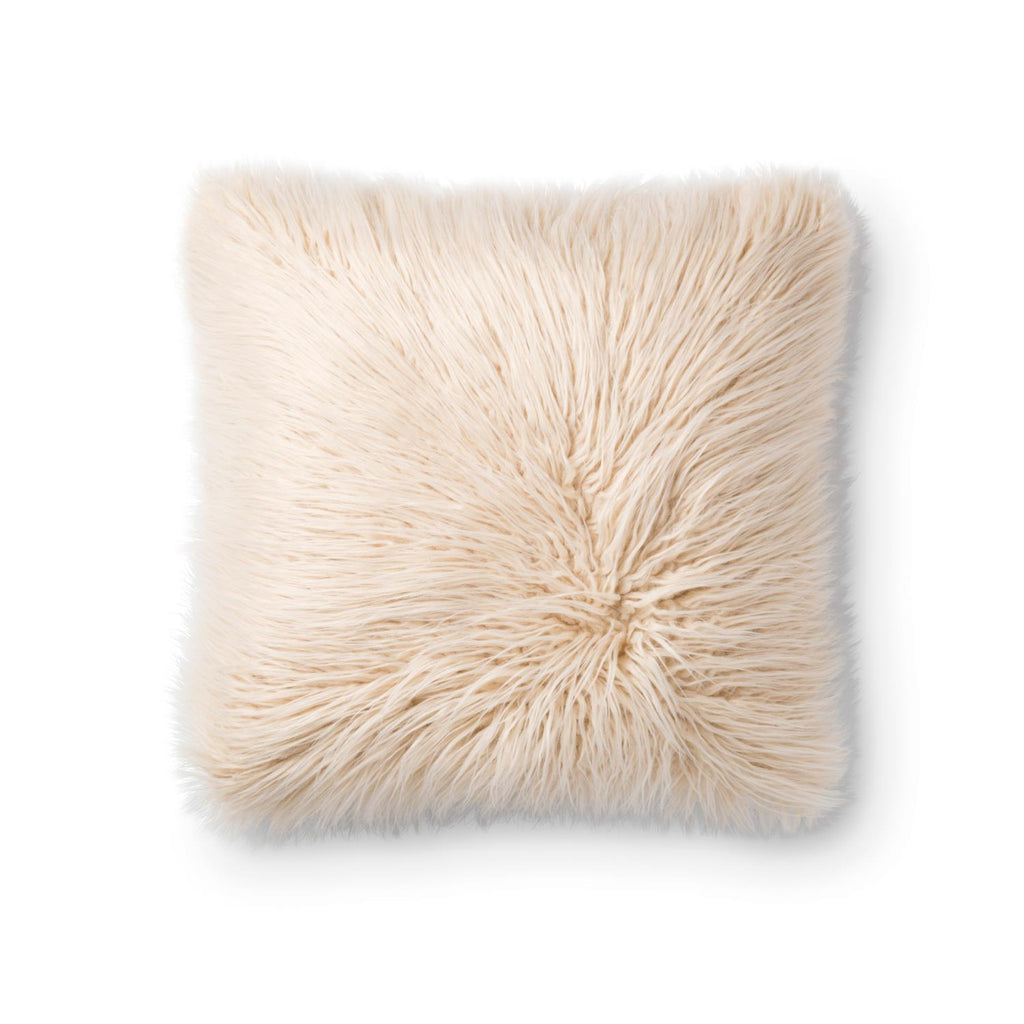 "Loloi Multi And Ivory Color 18"" X 18"" Accent Pillow PSETP0789MLIVPIL1"