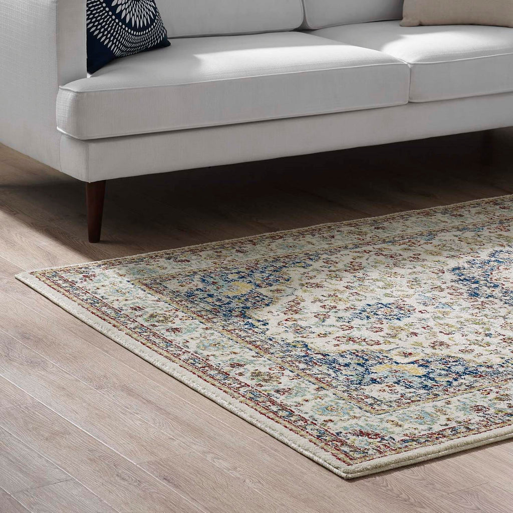 Modway Meryam Polypropylene 96.5X61 Area Rugs In Multicolored R-1147A-58