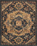 "Nourison 6'6"" x 9'5"" 2020 Midnight Rectangle Area Rug"