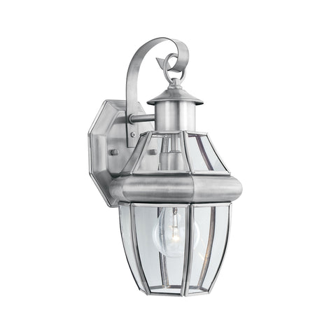 Thomas Heritage Wall Lantern Brushed Nickel 1x SL941378