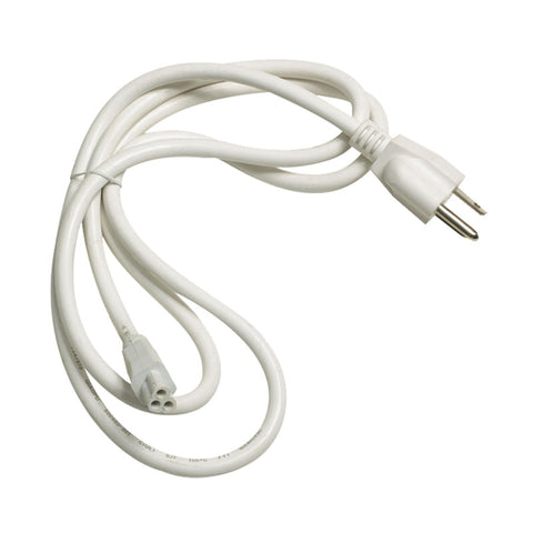 Alico Zeestick Cord and Plug in White ZSPLUG-N-30