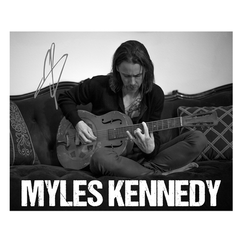 Myles Kennedy Poster - SIGNED