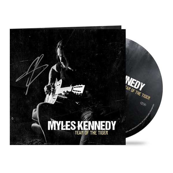 "Myles Kennedy ""Year of the Tiger"" Digipack CD + Signed 5x5"" Cover Art Print"