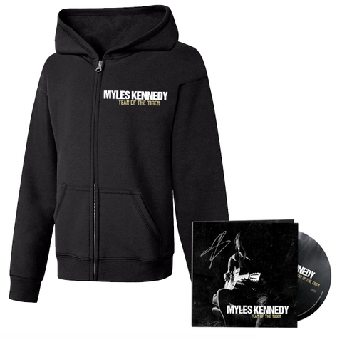 "Myles Kennedy ""Year of the Tiger"" CD + Hoodie - Bundle"
