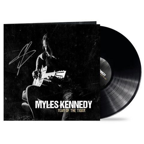 "Myles Kennedy ""Year of the Tiger"" LP - 12x12 Cover Art SIGNED"