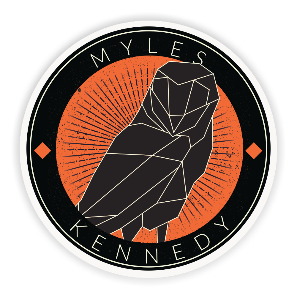 MK LINED OWL - STICKER (PRESALE)