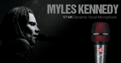 MYLES KENNEDY SIGNATURE SE ELECTRONICS V7 VOCAL MICROPHONE (PRESALE)
