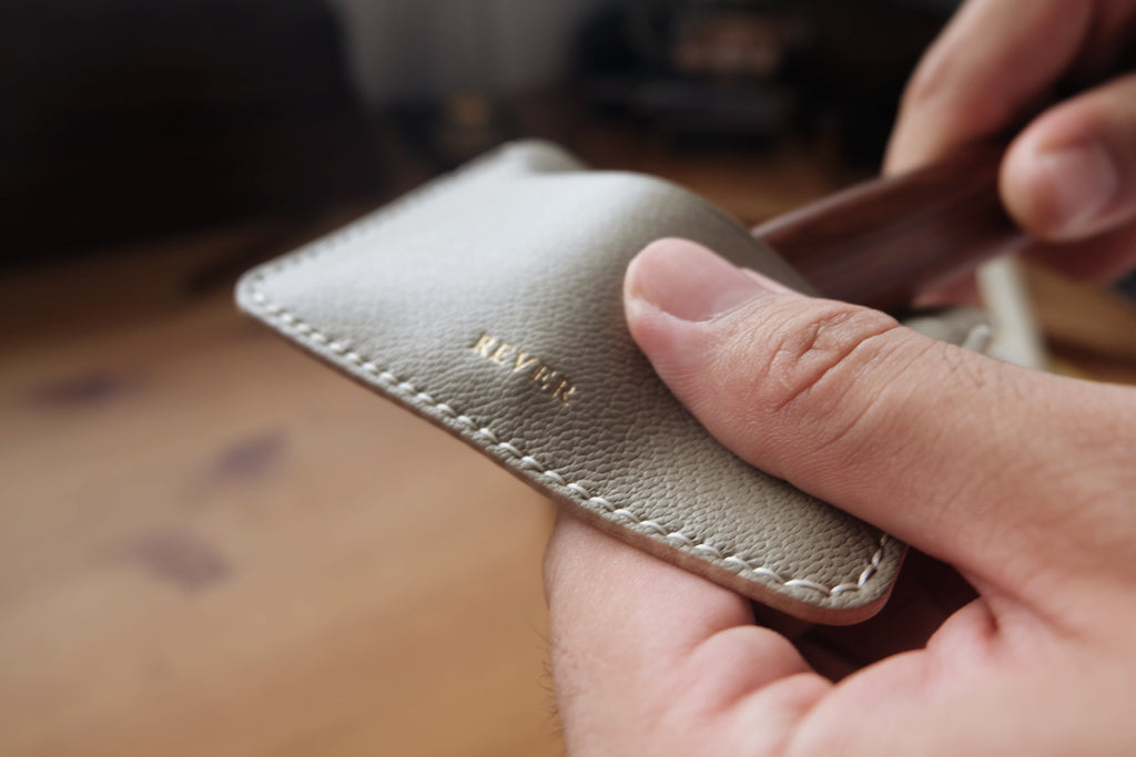 Our Handcrafting Process | Rever Leather Goods