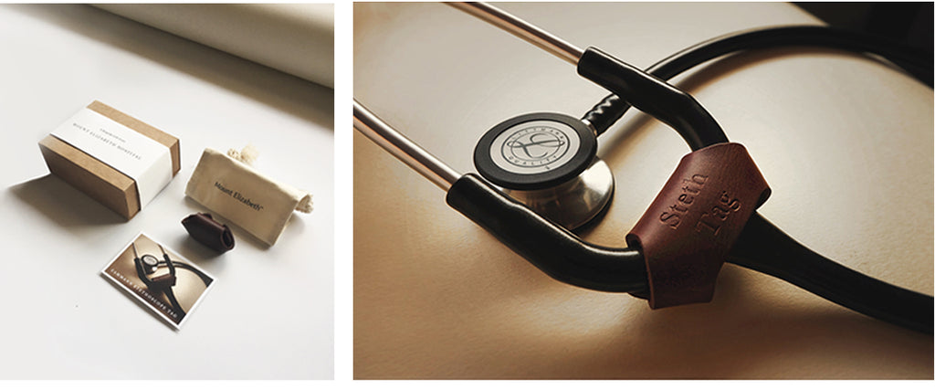 Rever Corporate Gifting and Packaging Cammann Stethoscope Tag for Mount Elizabeth Hospital Doctors
