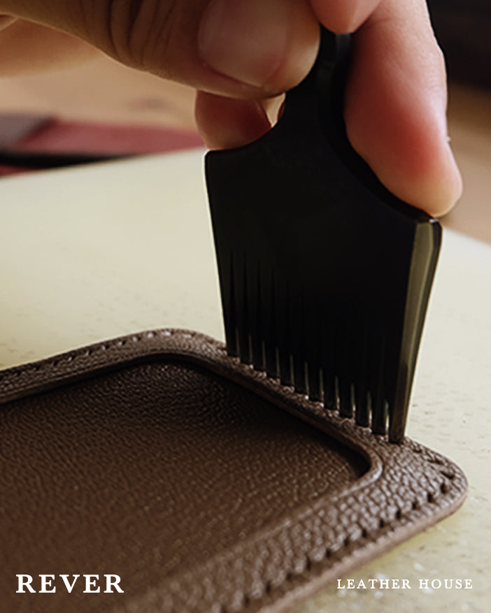 Rever Leather Goods Behind The Scenes Handcrafting Handstitching