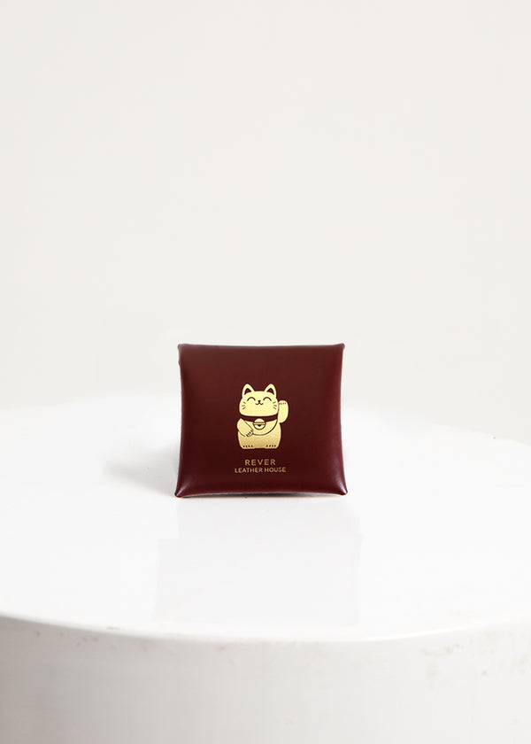 CNY Fortune Cat Warren Coin Pouch