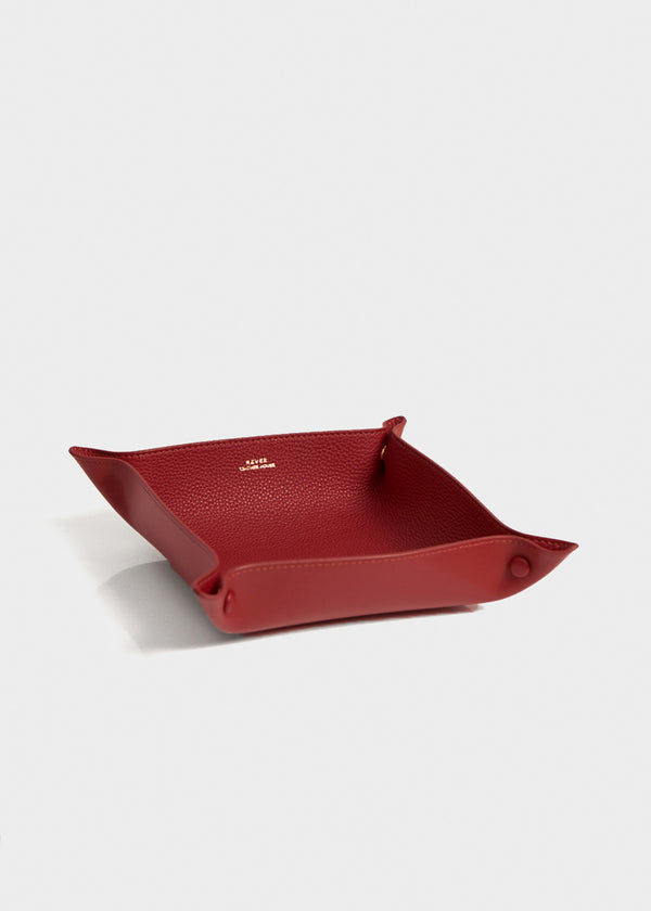 Alfred Large Valet Tray, Red