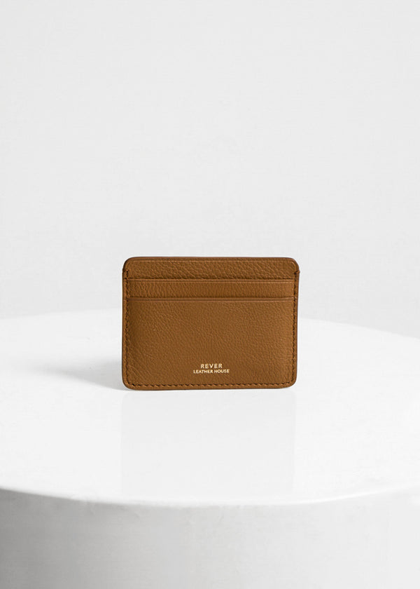 Biggins Card Holder, Gold