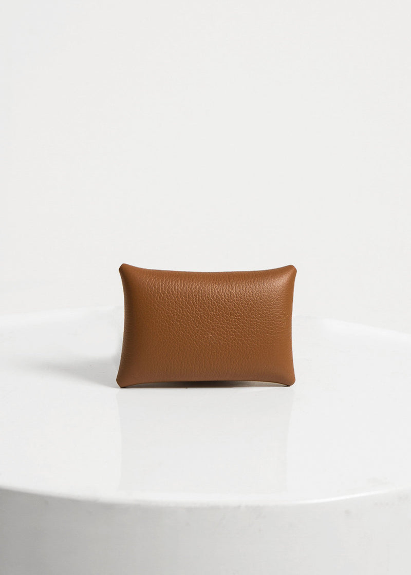 Warren Card & Coin Holder, Tan