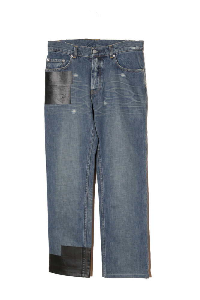 HELMUT LANG ARCHIVE CORTED DENIM PANTS