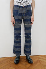 DESTROY FLARE DENIM PANTS