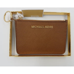 Michael Kors NEW Giftables Leather Purse Wallet Keyring In