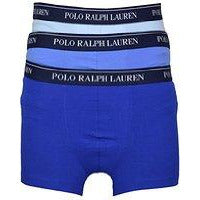 94e703644b Polo Ralph Lauren Classic Cotton Stretch Triple Pack Boxer Trunks Size-  Small