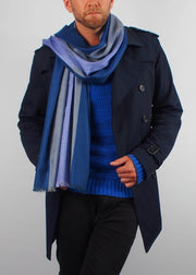 twilight colours wool scarf man