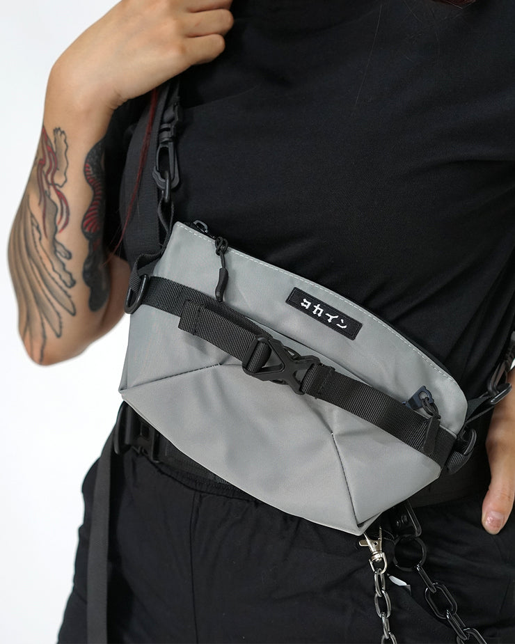 "Grey ""Tech"" Bum Bag ////"