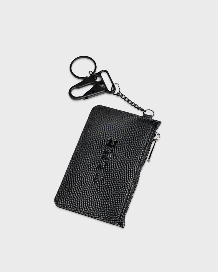 Leather Chain Cardholder ///