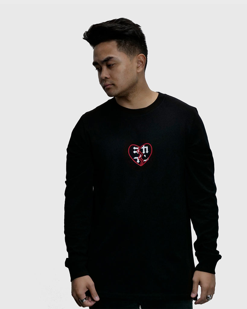 Heartbreaker Long Sleeve Tee /// Black