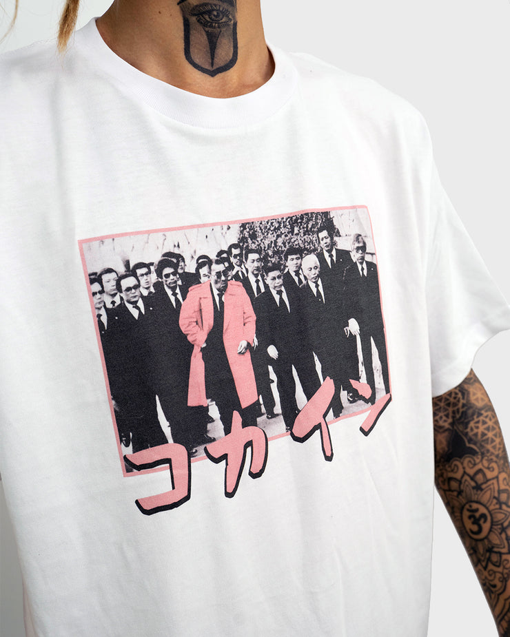Accent Tee - Yakuza /// White