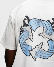 """Eternal Waves"" T Shirt // White"