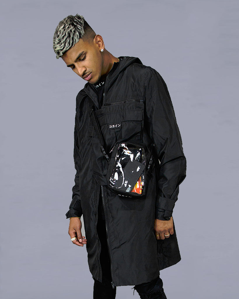Tech Trench Coat  /// Jacket