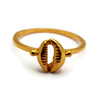 Cowrie Ring for Money Luck
