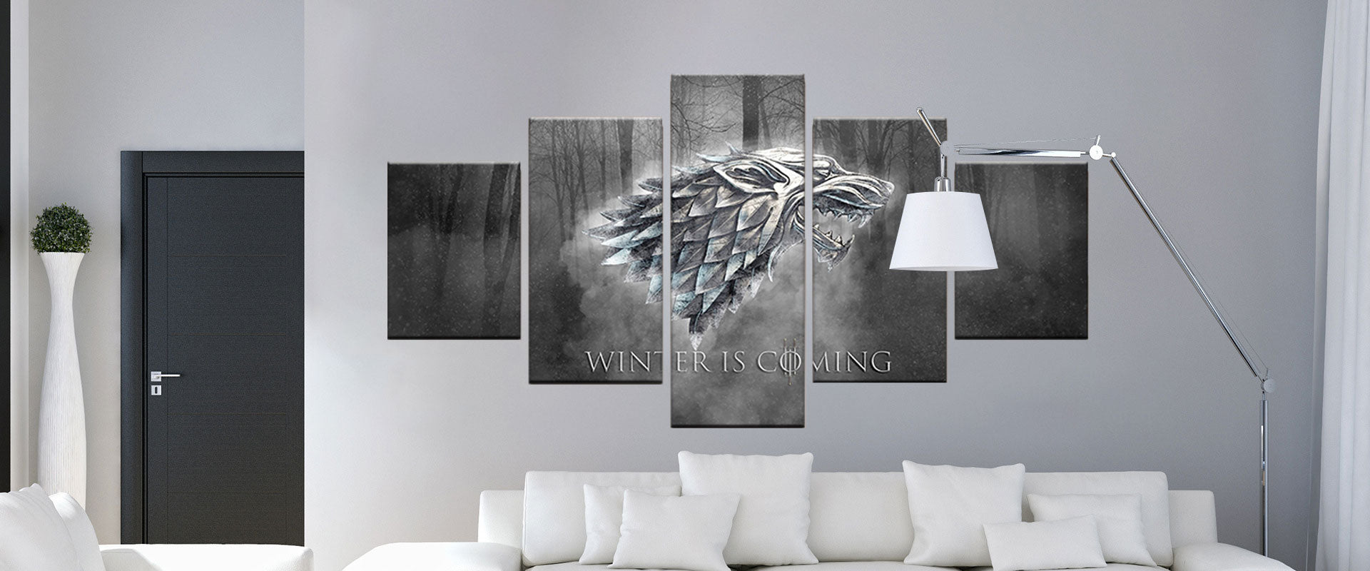 Winter is coming- Game of Thrones Canvas Wall Art