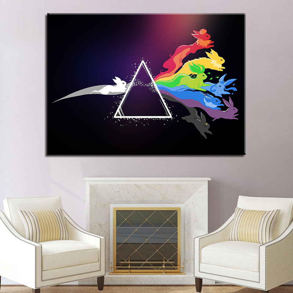 Rock Music Band Pink Floyd  1 Piece Canvas Painting Wall Art