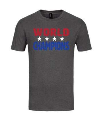 Red, White, Blue Champs Short Sleeve Tee
