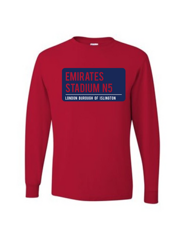 Arsenal Long Sleeve Tee
